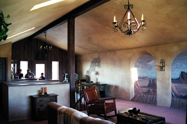 Spanish Cowboy Theme Interior Murals Design Installation